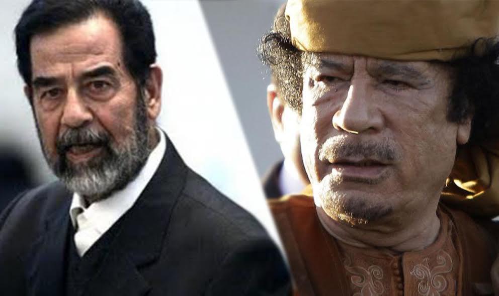 هذا ما فعله #القذافي لإنقاذ #صدام_حسين قبل إعدامه https://t.co/qSOrNmb...