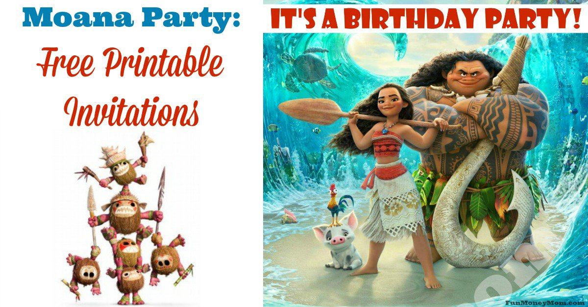 Lisa ODriscoll On Twitter Planning A Moana Birthday Party The Kids Will Love These Free Printable Invitations Tco Ky8R0f9WJH