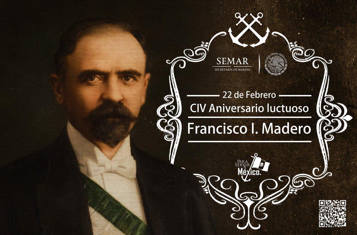 Semar México On Twitter Conmemoramos El 104 Aniversario Luctuoso