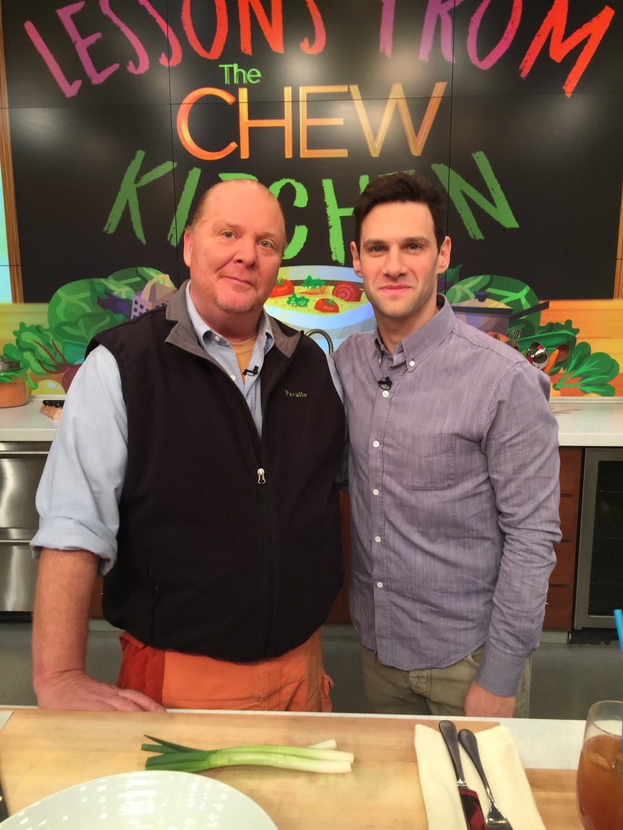 The bromance continues with #JustinBartha and @Mariobatali on today's...