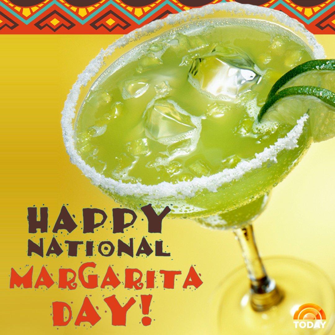 Happy #NationalMargaritaDay! https://t.co/wz1HK2PKhI