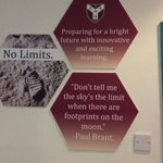 The Minster Nursery and Infant School is proud of inspirational new signage around the school. No Limits!