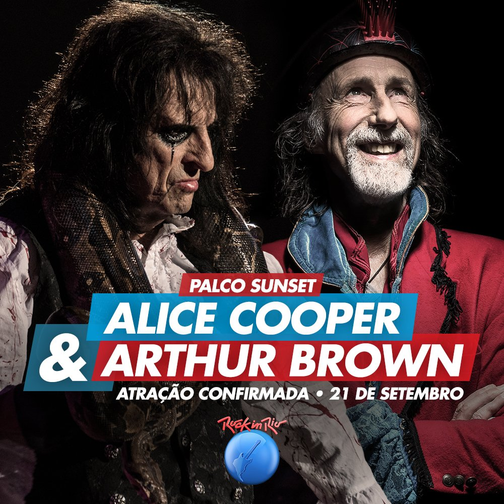 Assistir Alice Cooper ao vivo Rock In Rio 2017 Dublado e Legendado Online