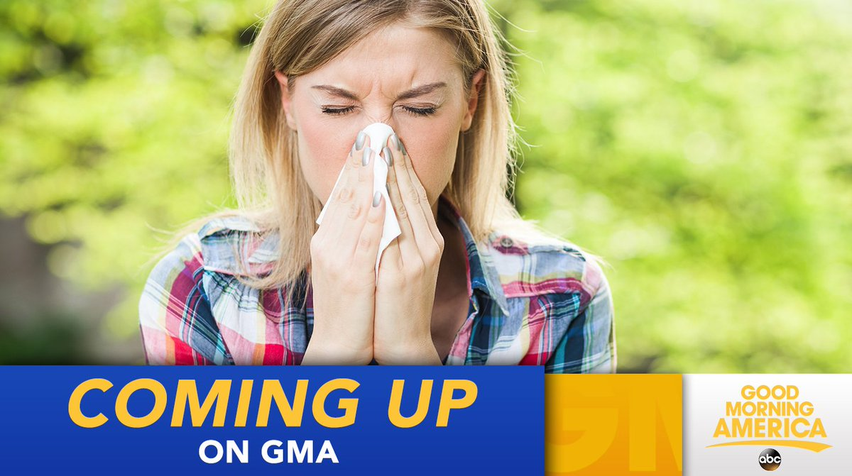 COMING UP ON @GMA: Could a warm winter lead to early onset seasonal al...