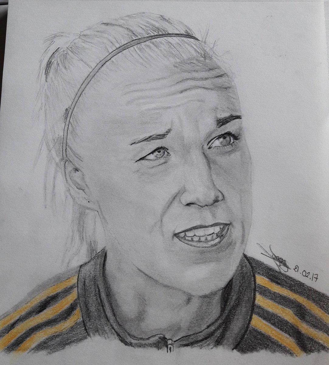 Portrait de @Cseger9 !!!  #carolineseger #olfeminin #sweden #midfielder #soccer #drawing #portrait #passion<br>http://pic.twitter.com/thzccxUcEy