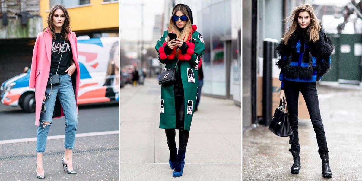 #StreetStyle: les plus beaux #looks de la #FashionWeek Automne Hiver 2017-2018  http:// buff.ly/2lKYvsF  &nbsp;  <br>http://pic.twitter.com/ekqTVNEAcz