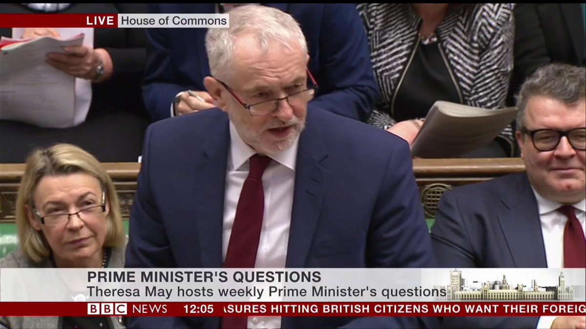 .@jeremycorbyn asks @theresa_may why is the government cutting number...