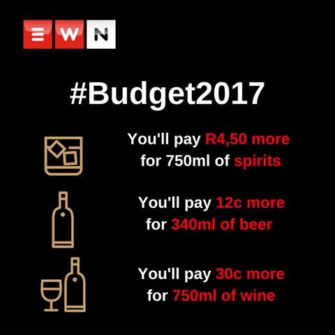 The increased cost of sin... #Budget2017 https://t.co/4vPH2pkyGa