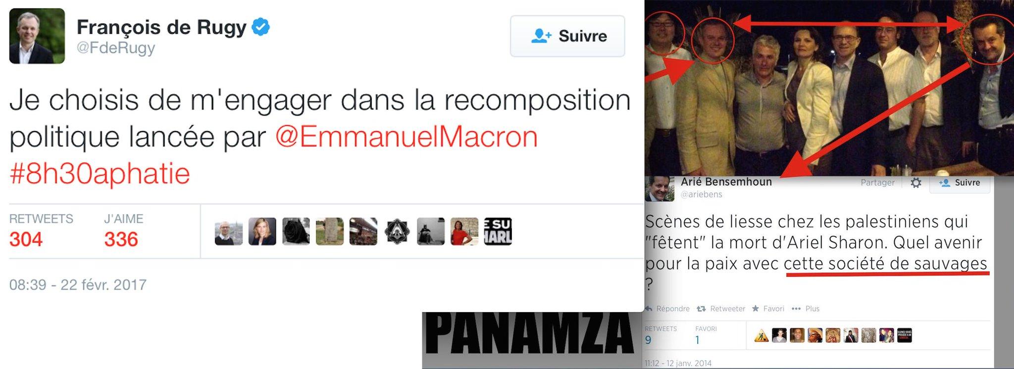 Un écolo sioniste rejoint Macron
