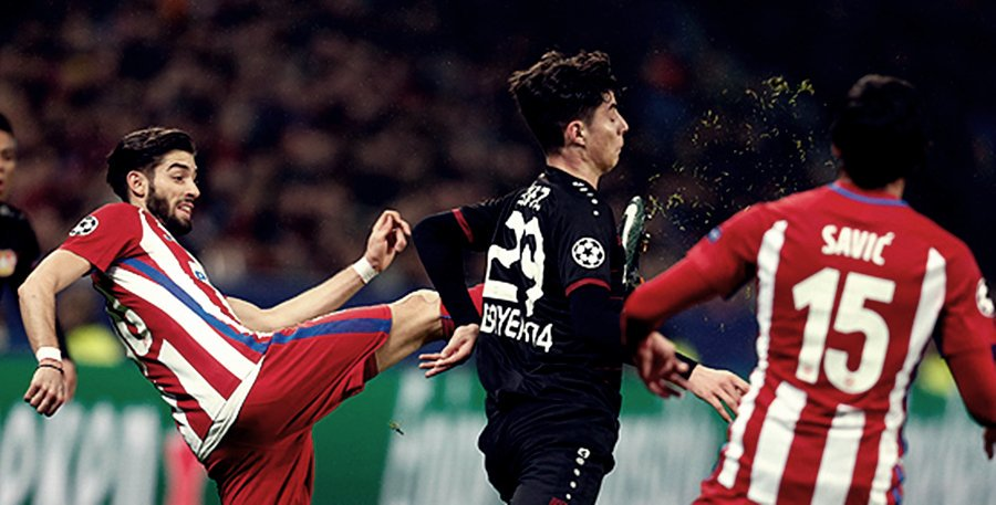 ATLETICO MADRID BAYERN LEVERKUSEN in Streaming Online Rojadirecta