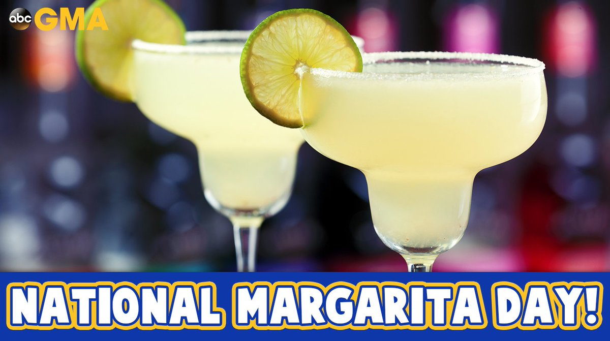 Happy #NationalMargaritaDay! 🍹 https://t.co/Pc9JWpr21x