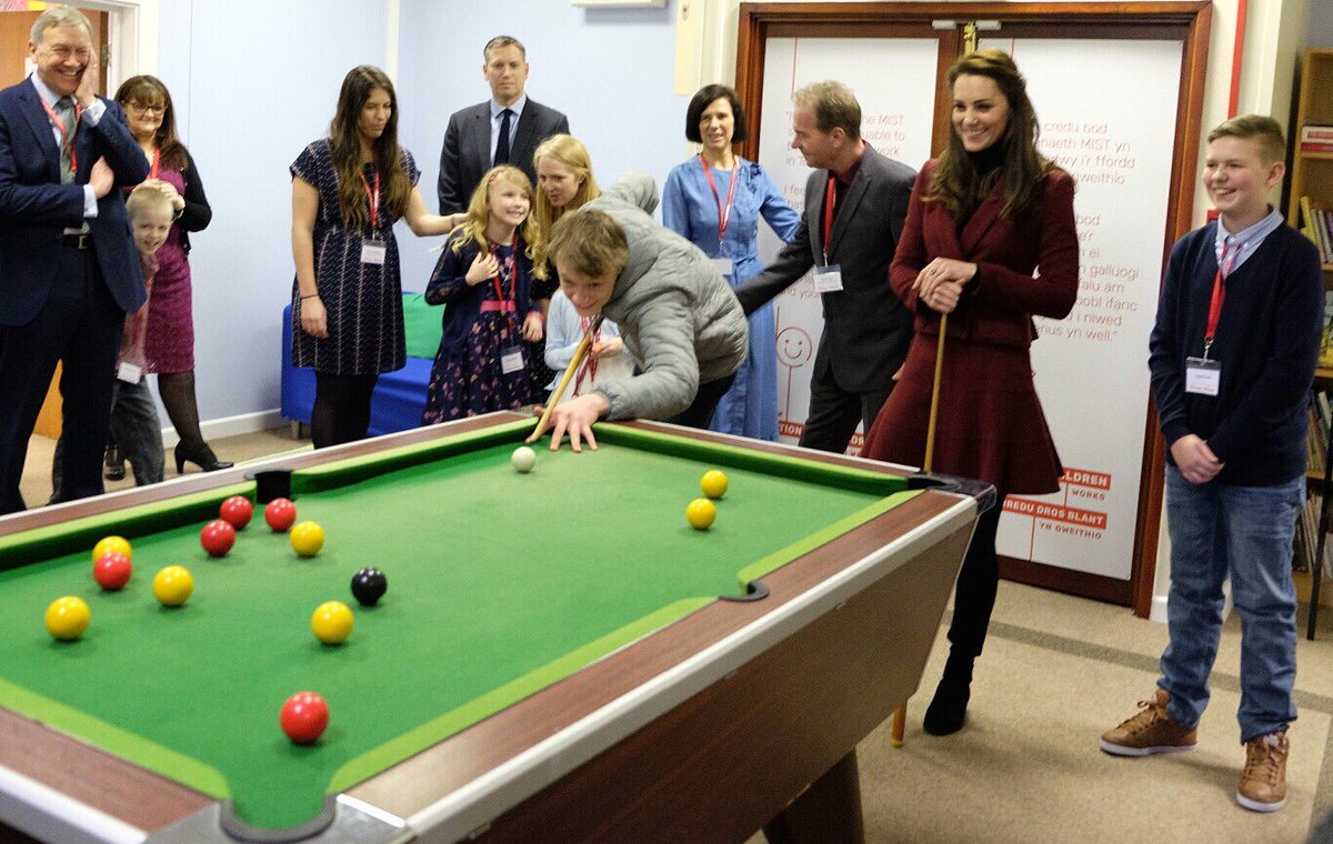 Kensington Palace On Twitter A Quick Game Of Pool With Some Of The - Kensington pool table