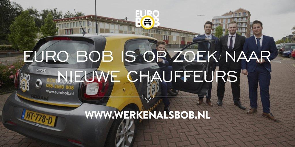 Euro BOB is op zoek naar chauffeurs. Kijk direct op http://www.werkenalsbob.nl voor de vacature.