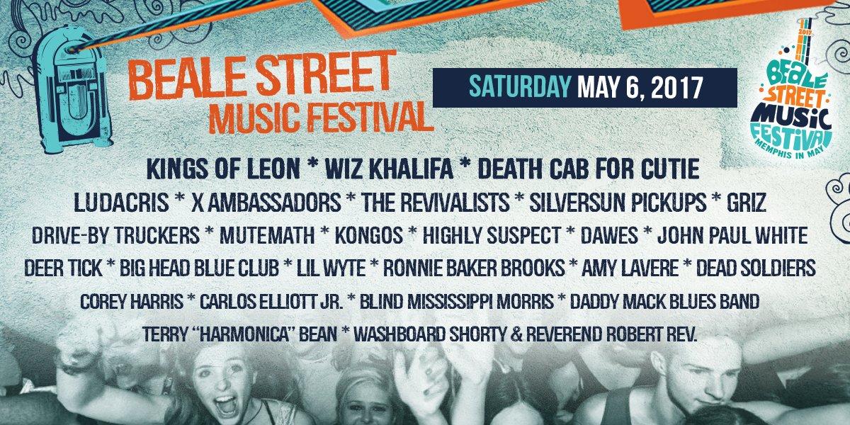 Beale Street Music Festival on Twitter: