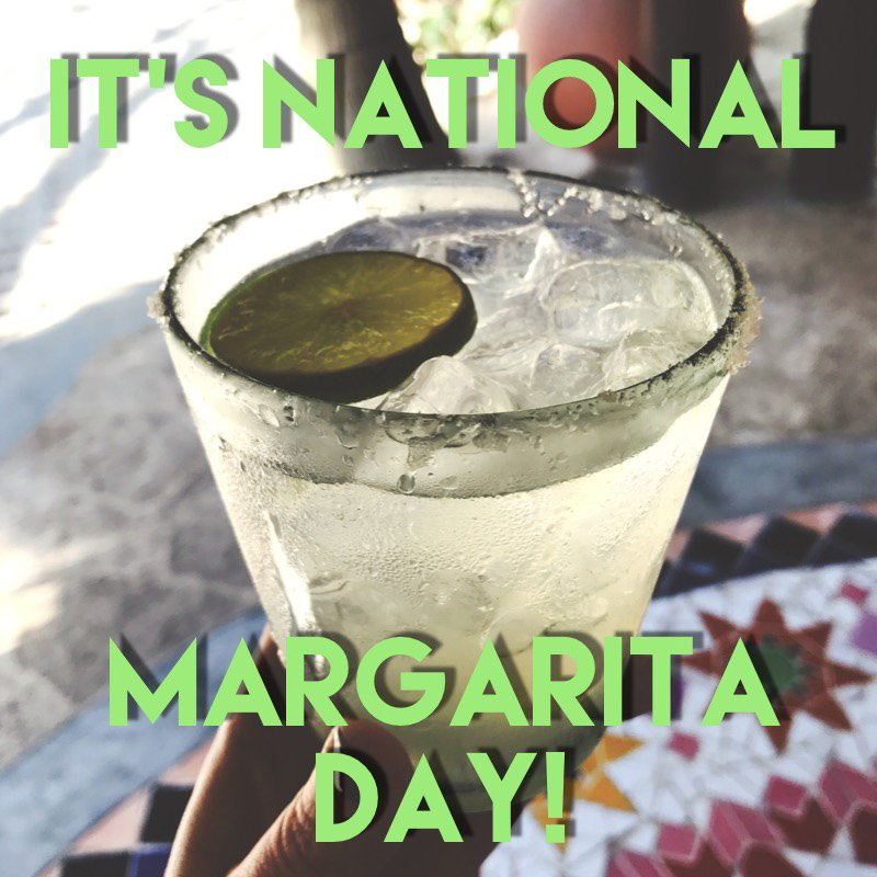 Happy #NationalMargaritaDay ! https://t.co/uzLBREbZH2 https://t.co/H4o...