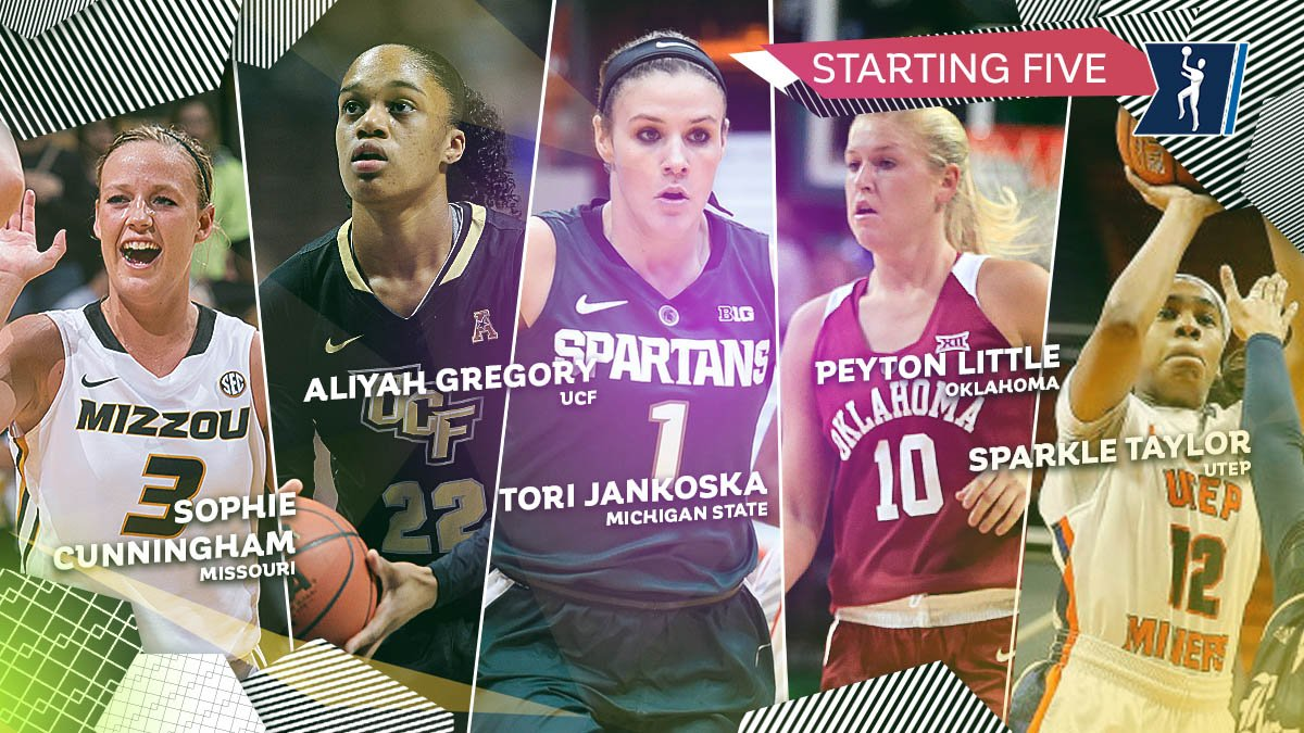 Here's our Starting Five! Who else should have made the team this week? https://t.co/3CwEsuIHeV #ncaaW https://t.co/Mvb98DwpAO