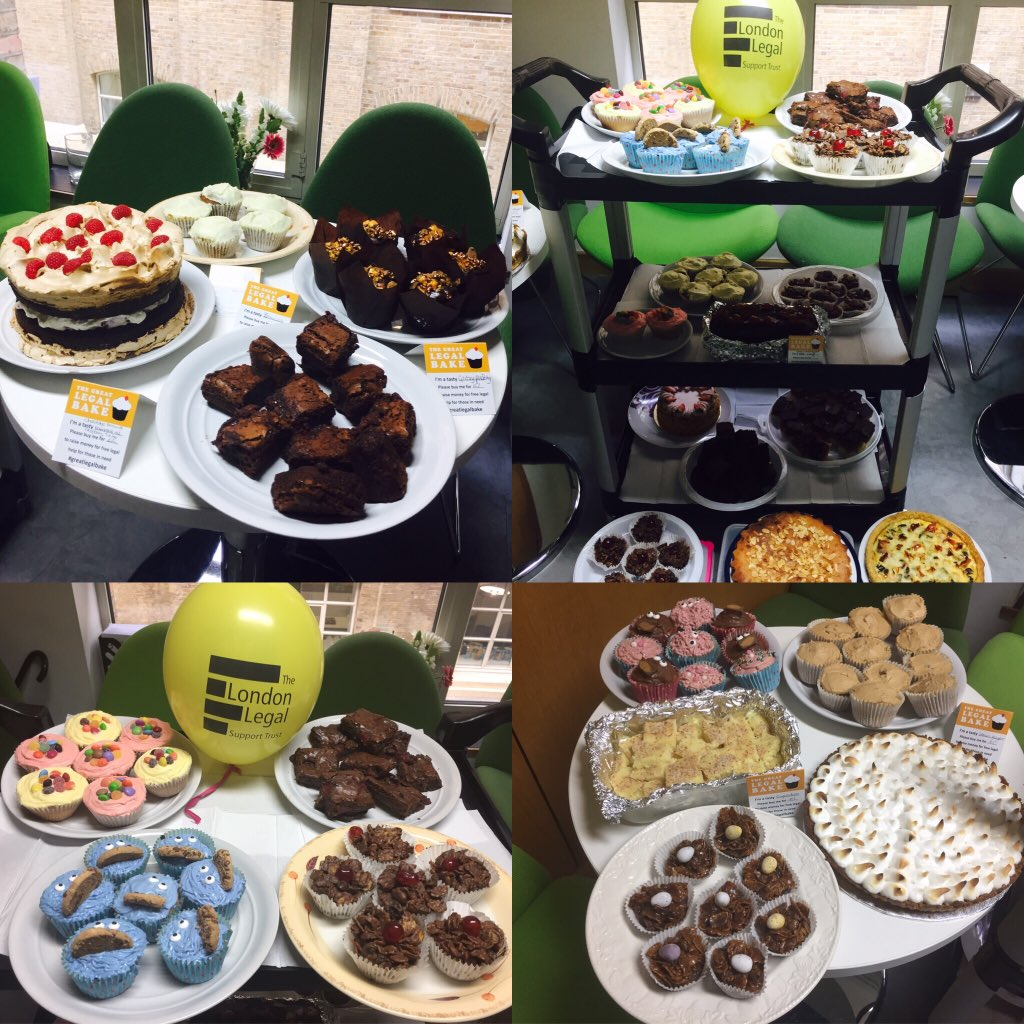 @AnthonyGoldLaw outstanding #GreatLegalBake efforts this year for a very worthy cause-so many delicious cakes @londonlegal @greatlegalbake https://t.co/je7UOSdiwN