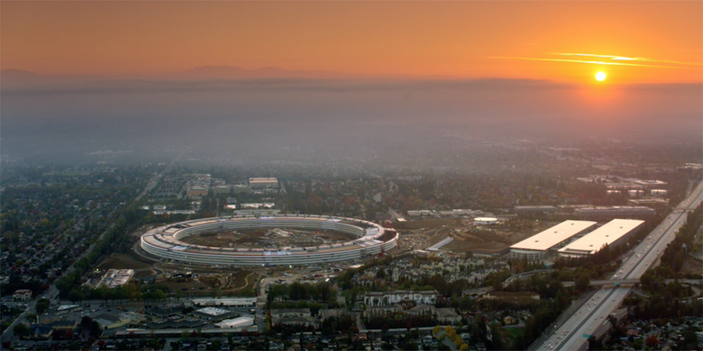 Apple's spaceship campus officially named Apple Park; auditorium is St...