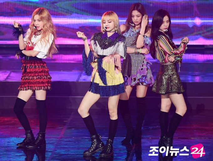 exceptional blackpink performance outfits song