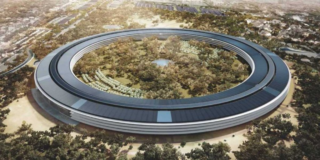 Apple officially announced that its $5 billion campus will open in Apr...