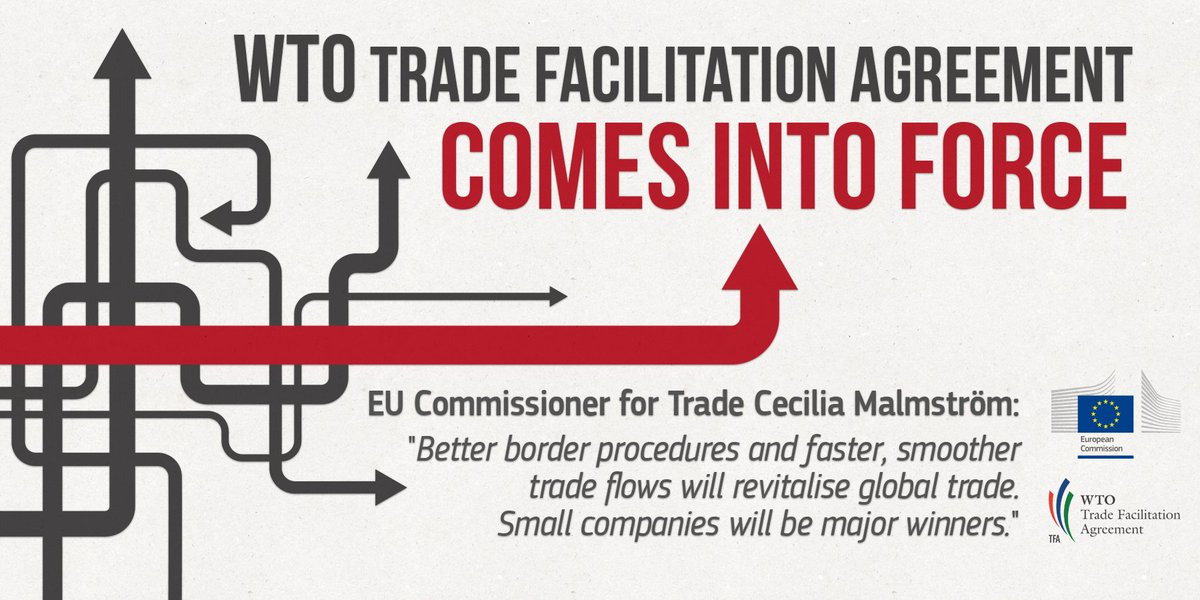 European Commission On Twitter The Wto Trade Facilitation