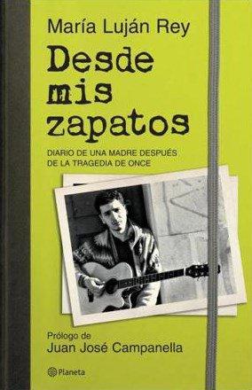 El libro de @marialujan_rey se títula 'Desde mis zapatos'   #TragediaD...