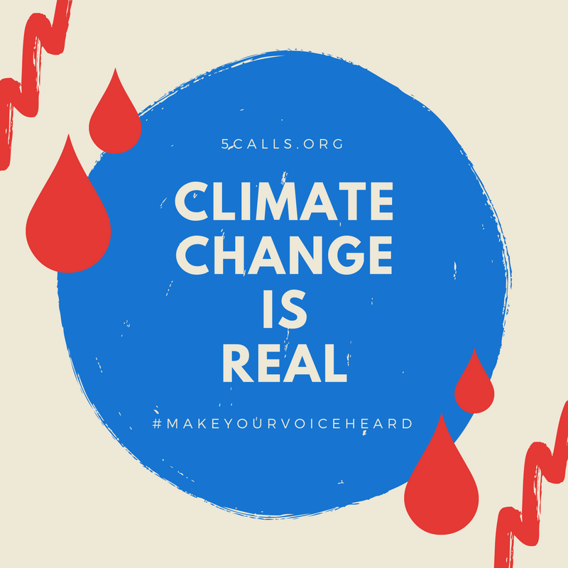Climate Change is REAL.  ☎️: https://t.co/eXLhy0yrSy #WhatMotivatesMeI...