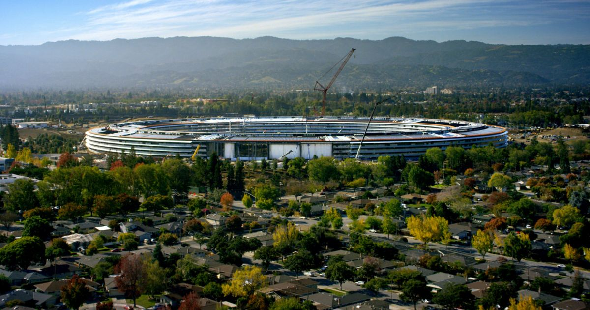 Apple's spaceship campus will open in April as 'Apple Park' https://t....