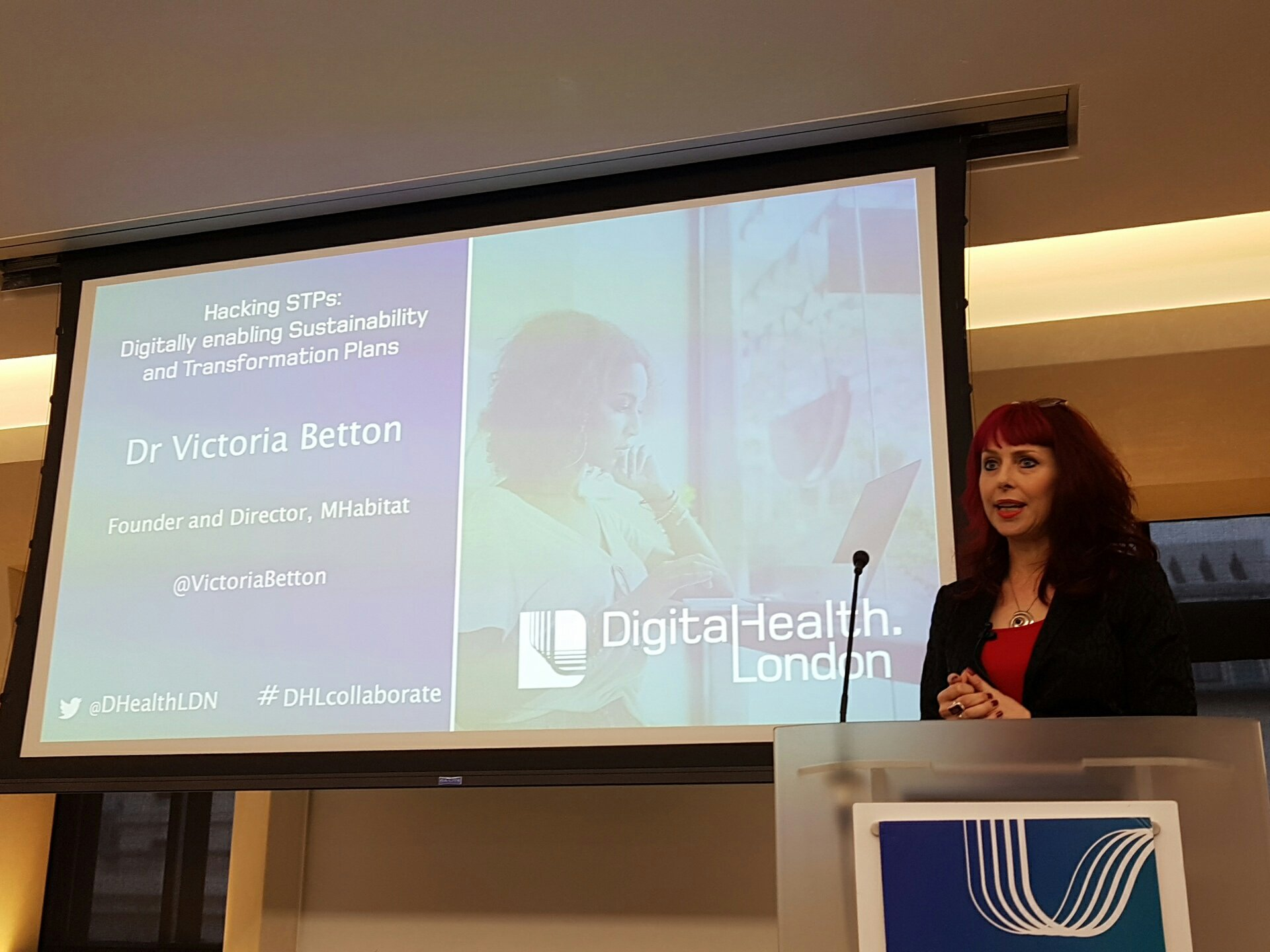 I finally met @VictoriaBetton - marital and chair of this section on hacking STPs #DHLcollaborate https://t.co/RgJAzuisH5