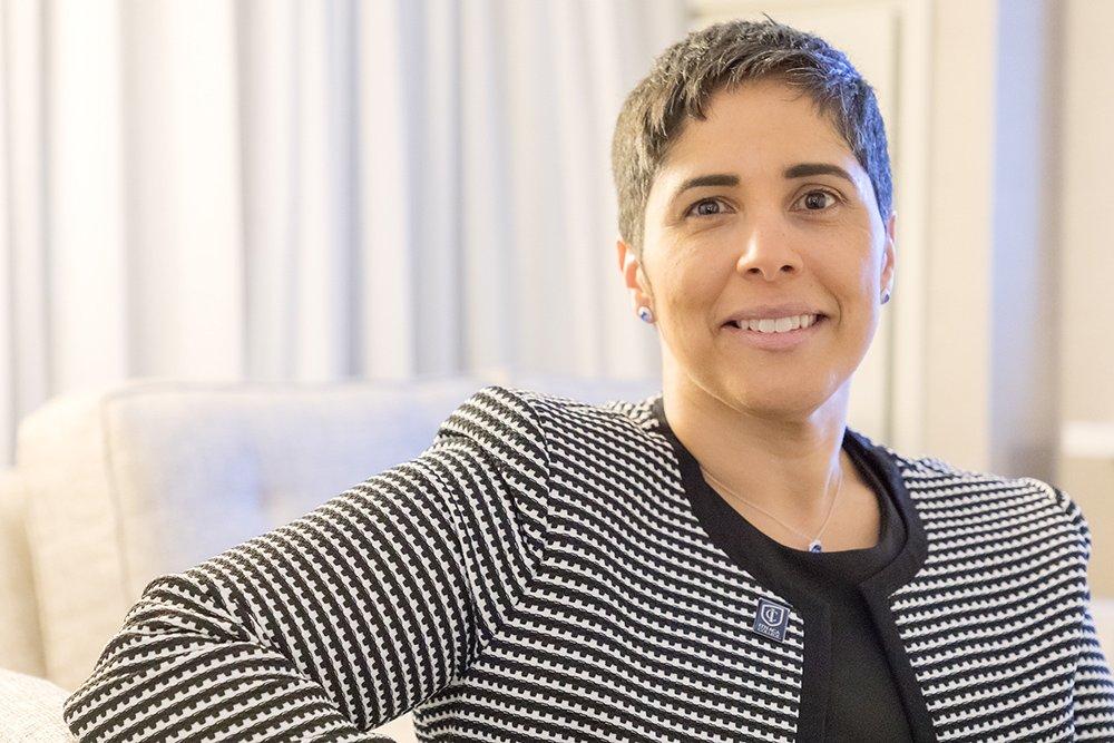 Meet our ninth president, Shirley M. Collado! https://t.co/q9rkoiT6OH https://t.co/IR4ncYbRyq