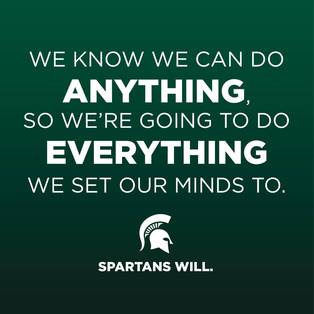 #WhatMotivatesMeIn4Words: Who will? Spartans Will. https://t.co/fYqbyW...