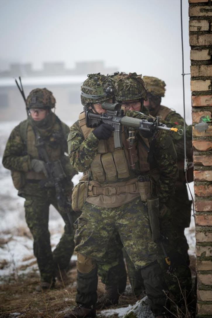 how to become canadian soldier