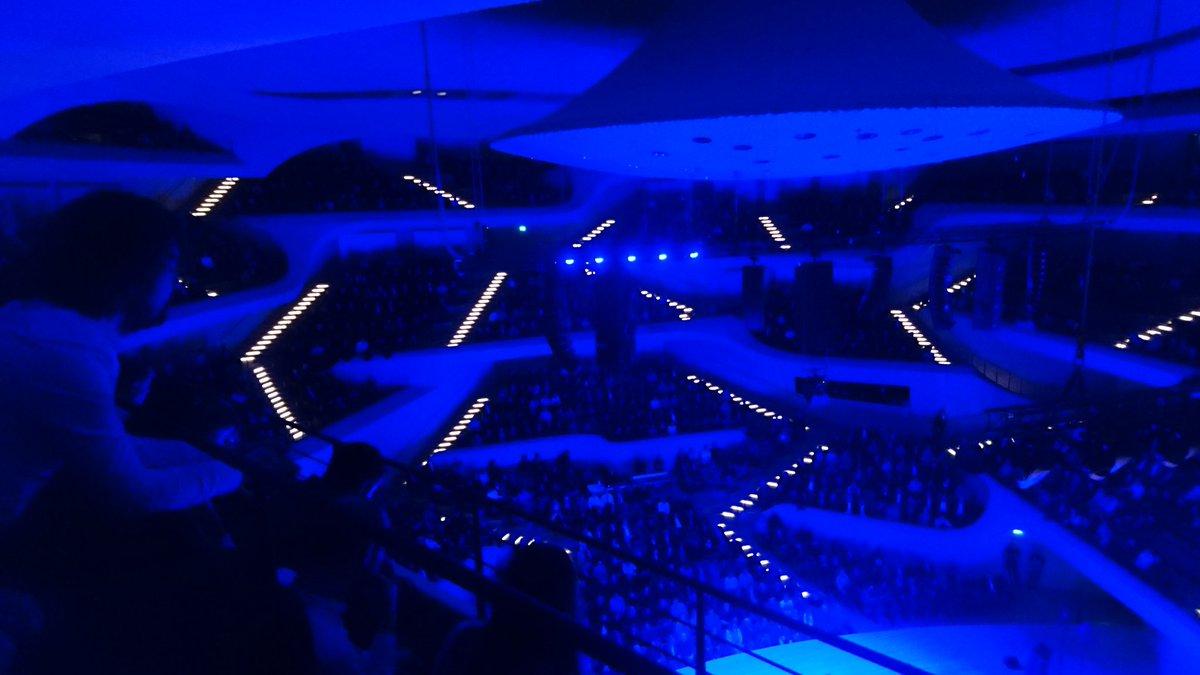 Concert @elbphilharmonie. This building is amazing! #Elbphilharmonie #elbphi<br>http://pic.twitter.com/QWlzvLggcg