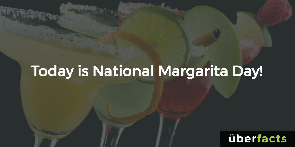 Today is #NationalMargaritaDay https://t.co/qThga9ktxL