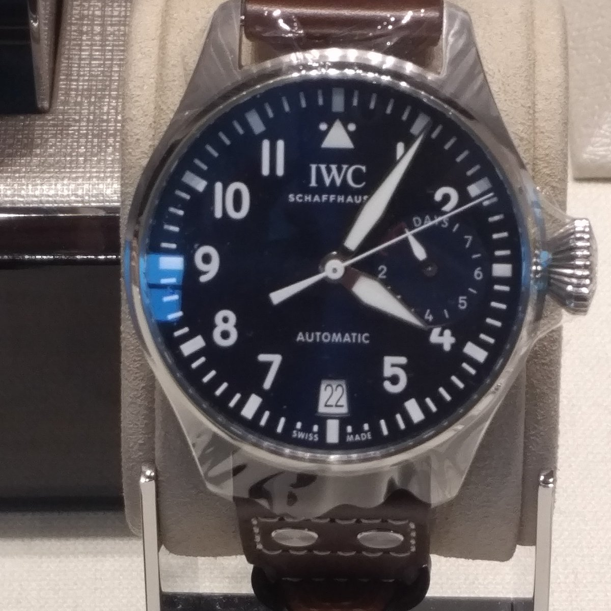 The IWC watch. Keeps time in your own world regardless of what timezon...