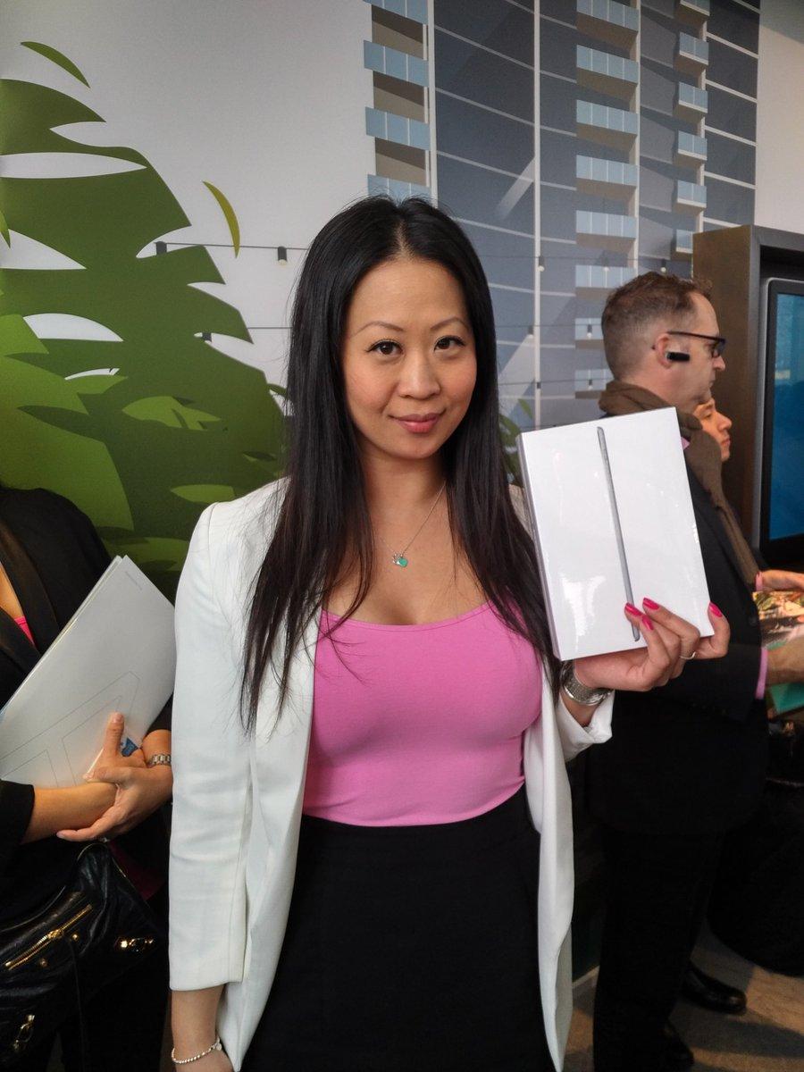 When your @dexterrealty #colleague #Win the door prize @wesgroup #VIP #realtorevent #woohoo #PinkShirtDay<br>http://pic.twitter.com/7MALHVzlxK
