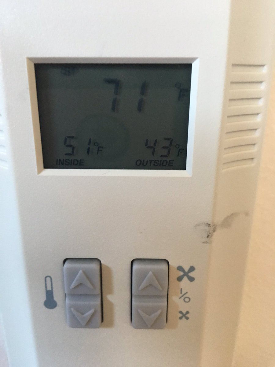 We have a record new low temperature in the choir room this morning... 51 degrees. @NVUSD @ACWolves @AmCanHS #SendHeat <br>http://pic.twitter.com/QOQ8HiAJeO