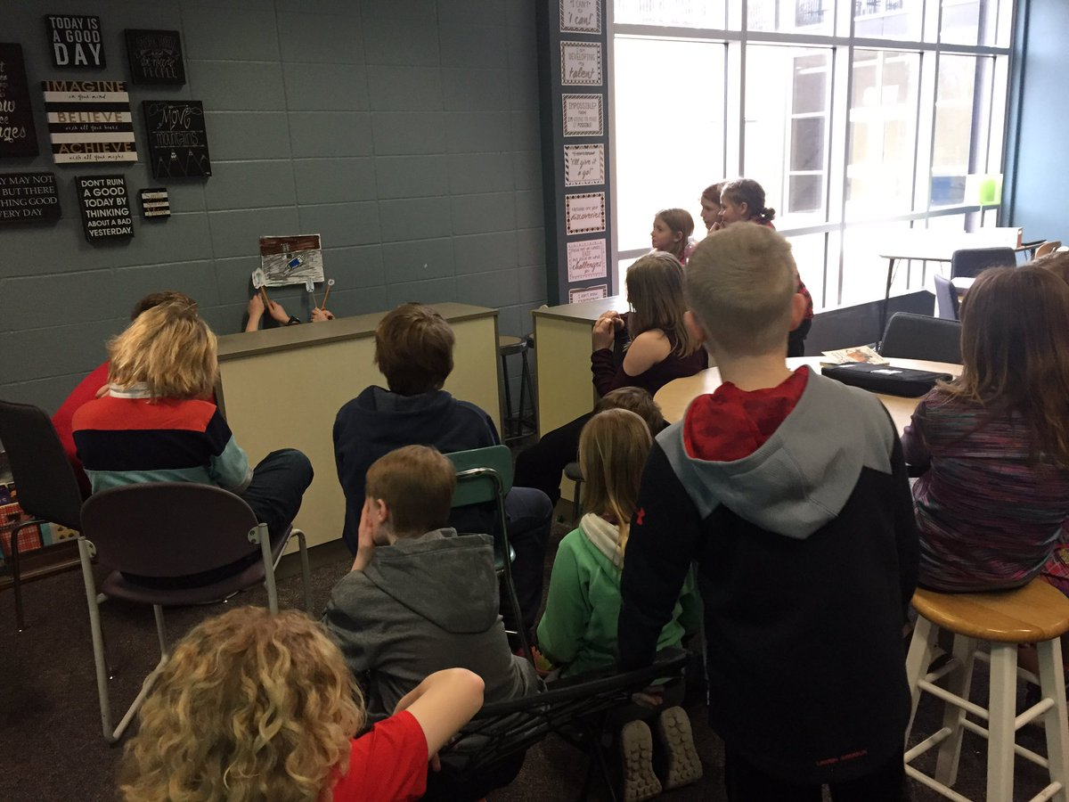 bookprojects hashtag on twitter never too old for a puppet show grandviewms hoogeveensclass bookprojects pic com gky2wxvdyl