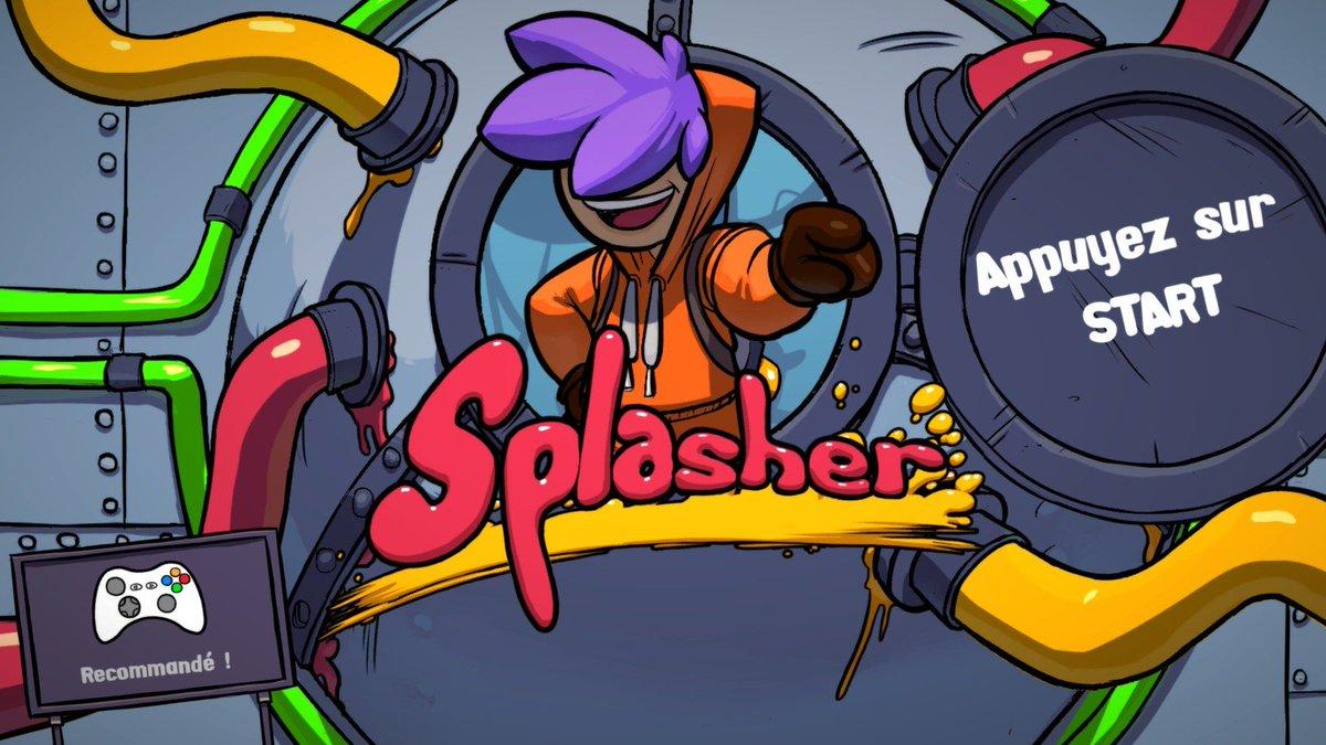 #TEST de #SPLASHER sur #PC  Un plateformer speed, exigeant, fun et coloré!   http://www. starsystemf.com/2017/02/test-d e-splasher-sur-pc-un-plateformer-speed-fun-exigeant-et-colore.html &nbsp; …  #indiegame #indiegamedev #indiegamelover<br>http://pic.twitter.com/PCFTChQAEl