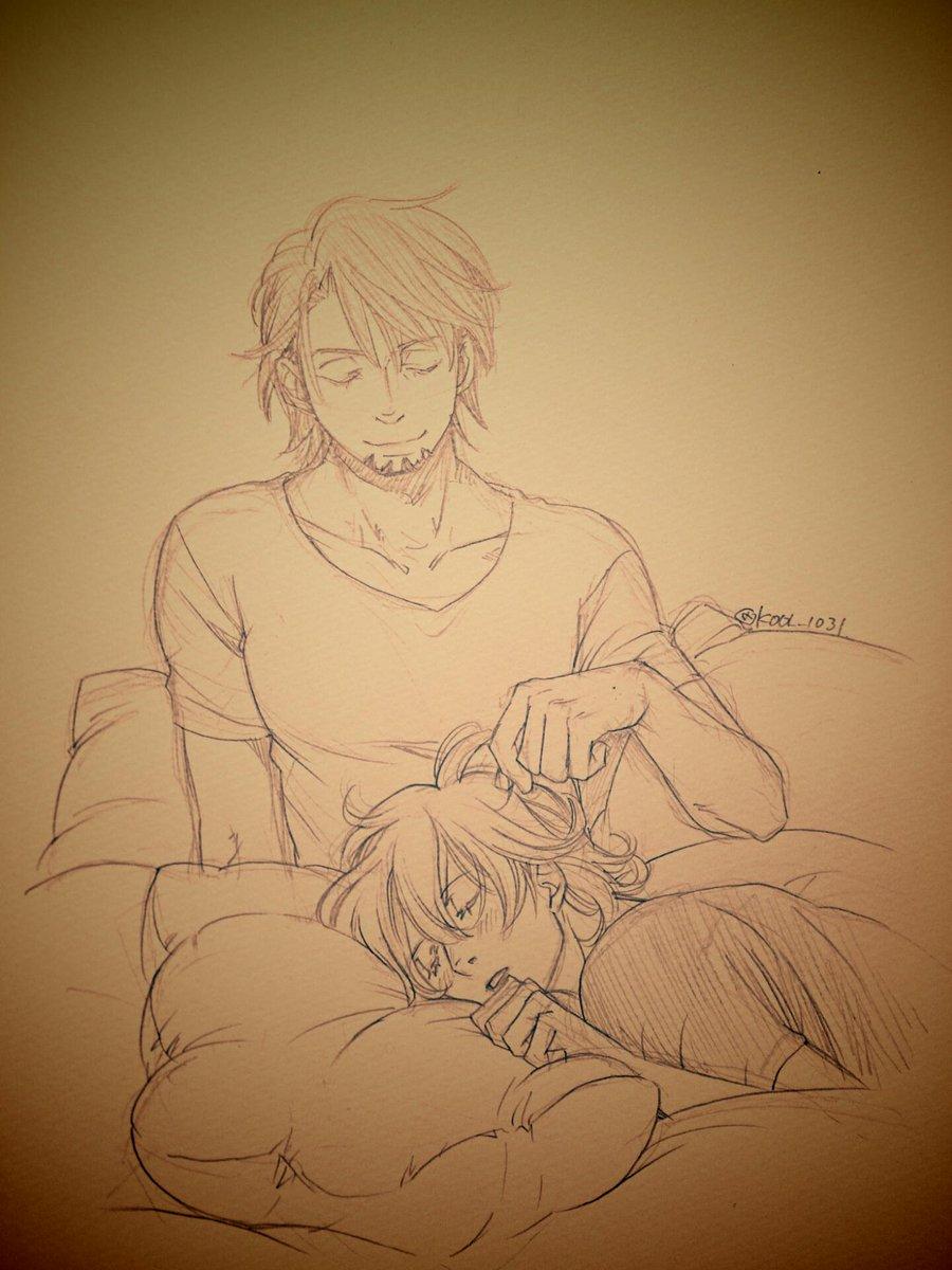 酔っ払って寝ちゃうバニーちゃん可愛いなって事でおやすみす(´-ωก`)