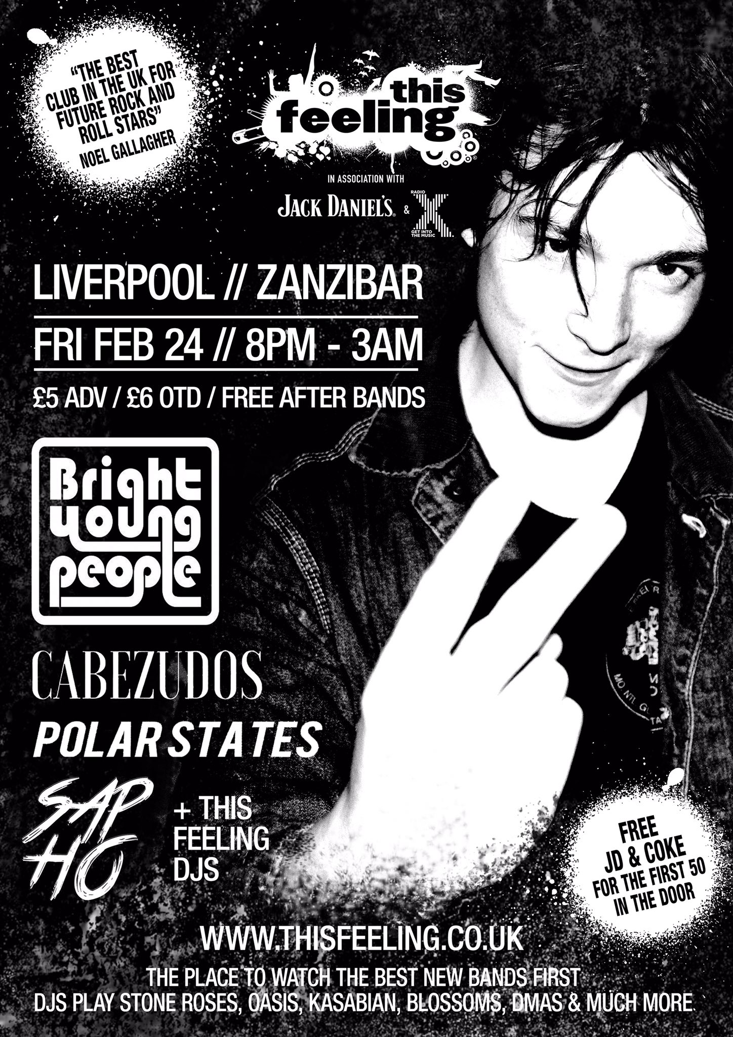 Bright Young People @ Zanzibar, Liverpool