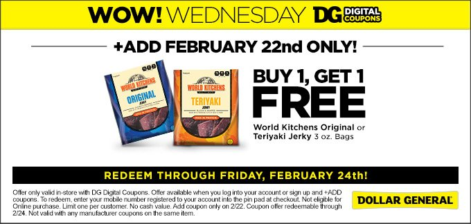 Dollar General On Twitter Wow Wednesday Add The Dg
