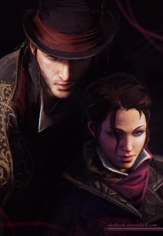 assassins creed syndicate evie fan art