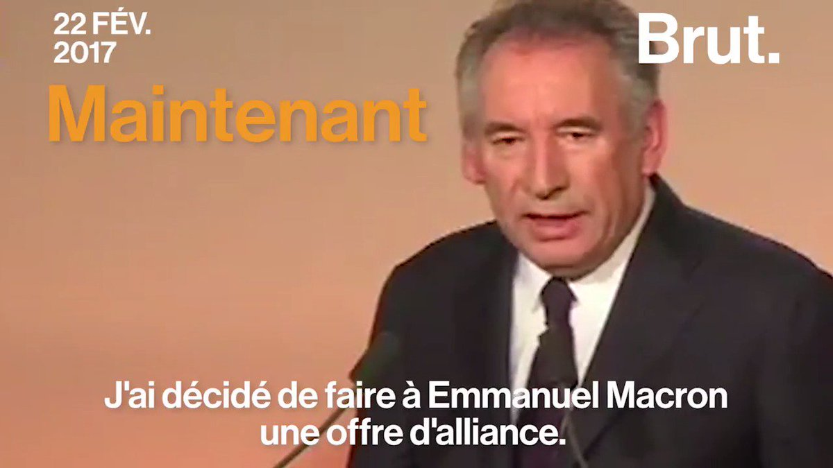 Bah alors ? #Bayrou https://t.co/NgIXqaEjZE