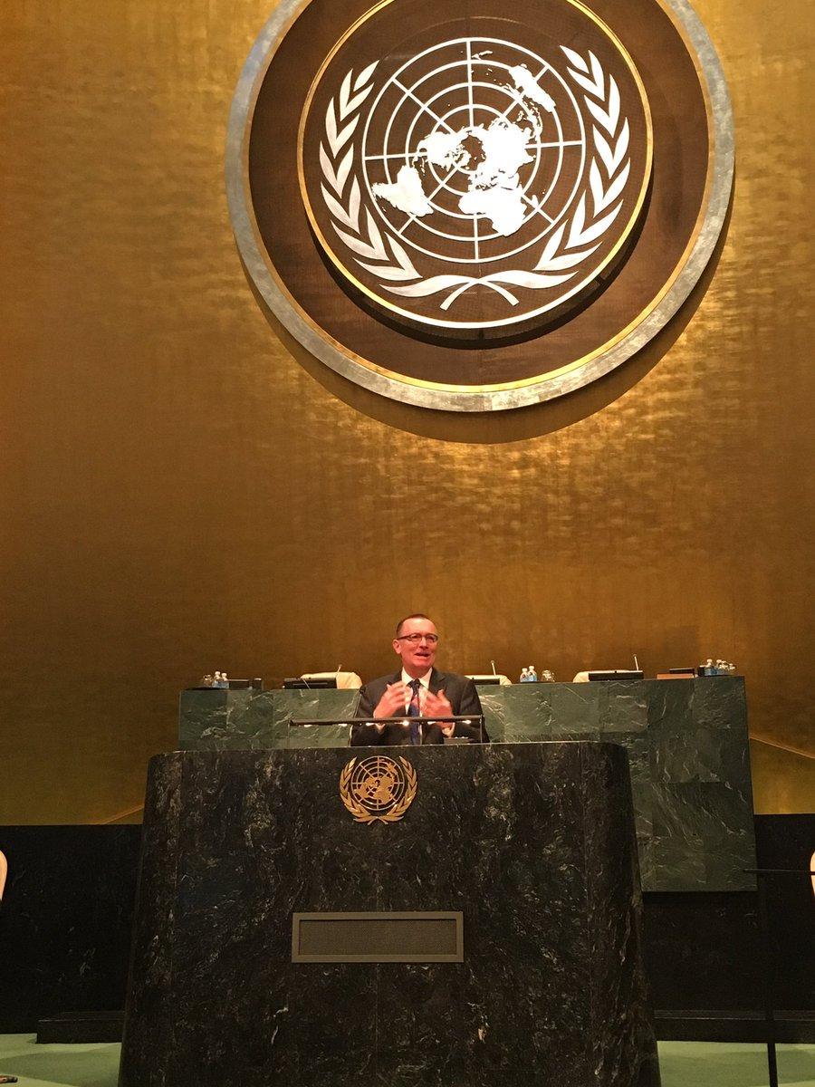 Great to hear Amb. Feltman during his keynote address. Read his full speech here: https://t.co/sAOmqjFl6v  #UNAatUN #ConflictPrevention https://t.co/3f8U1etHdj