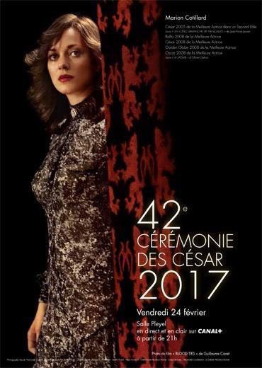 RT @LeCNC: J-2 ! Retour sur les affiches des dernières éditions des #César ; des actrices qui incarnent le #cinéma français https://t.co/yw…
