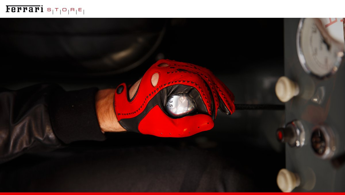 ferrari gants and driving red accessories clothing sell buy mercedes scarves belts rouges tricote gloves knitted