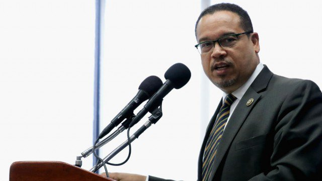 Ellison responds to Trump tweet: We will stop you from dividing us htt...