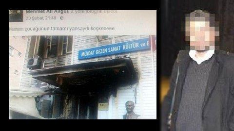 Müjdat Gezen Sanat Merkezi kundakçısı kinini sosyal medyada kusmuş htt...