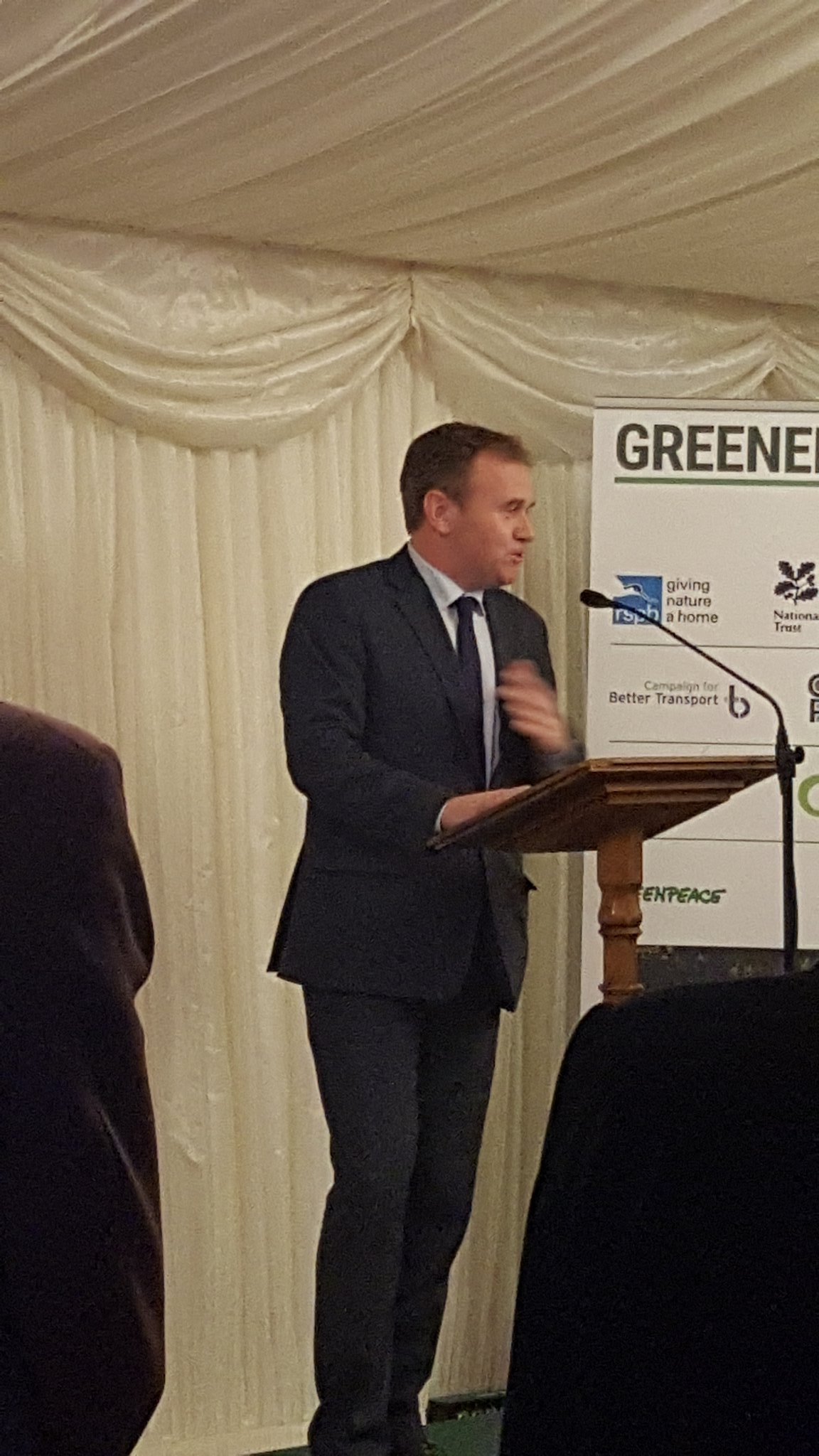 """Taking control back means taking responsibility"" Fisheries minister George Eustice talks at #greenerUK https://t.co/zwTOqOmx3Z"